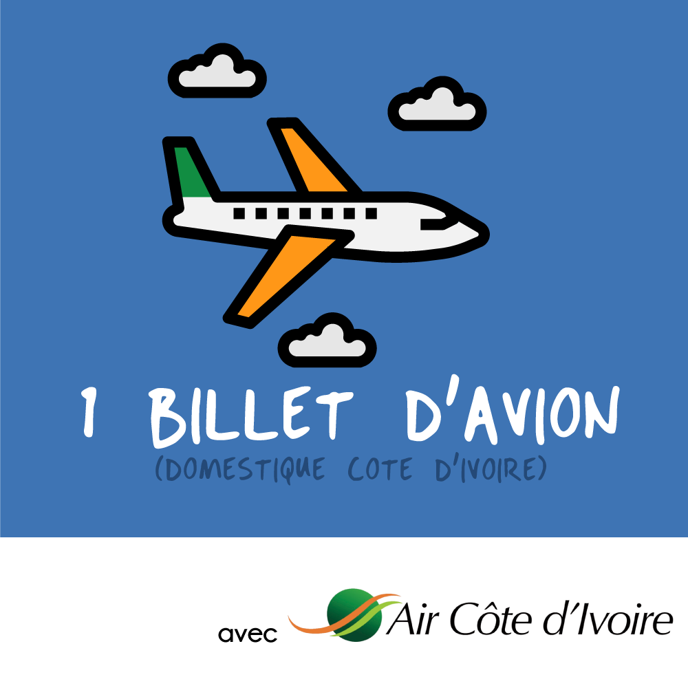 un billet d'avion Air CI